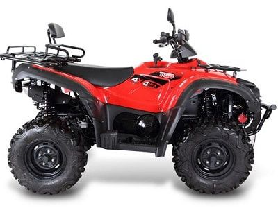 Farm quad 600 SL red model. The TGB farm quad range offers an excellent choice of specifications and value for money. For more information or a quotation, please visit our website http://www.fresh-group.com/farm-quad.html or call us on 0845 3731 832