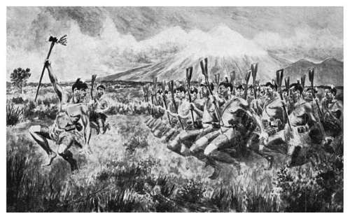 In pre-European times, Maori tribal warfare was common. Maori warriors were strong and fearless, able to skillfully yield a variety of traditional weapons.
