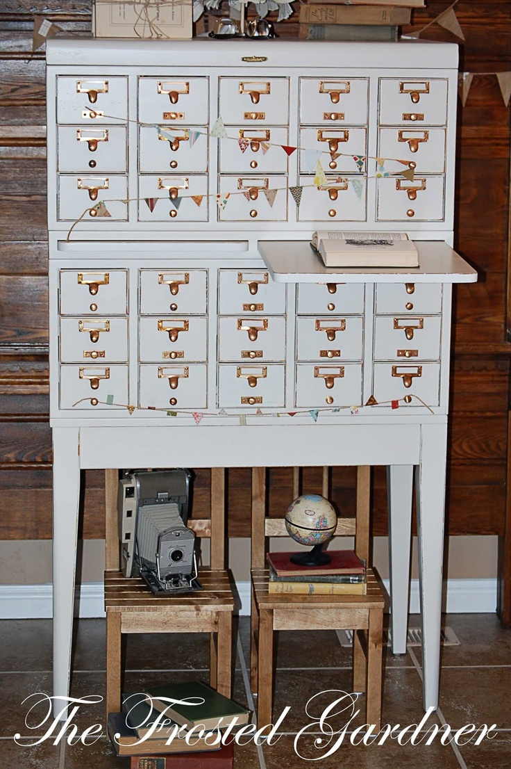 23 Best Images About Library Card Catalog Leg Ideas On Pinterest Vintage Library Furniture