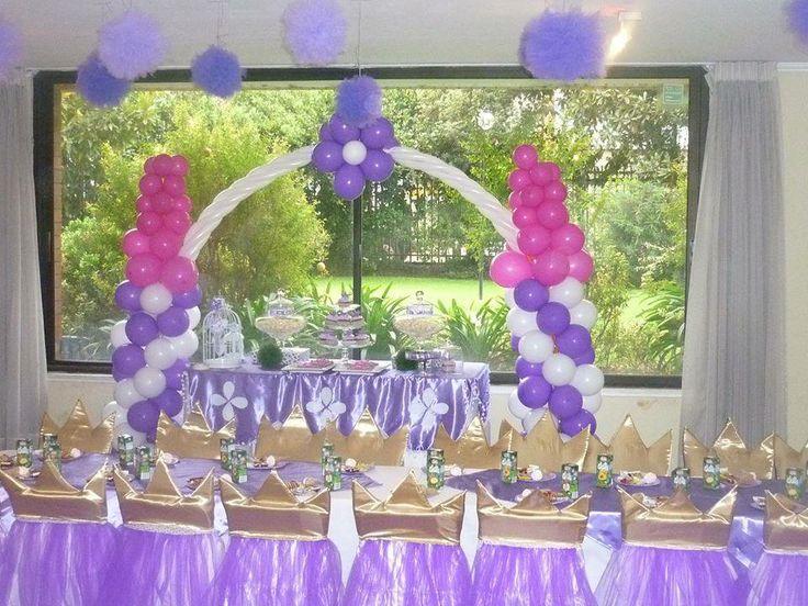 Fiesta tematica princesita sofia sof fiesta for Sillas para eventos