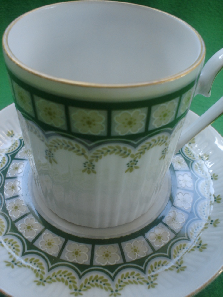 """vintage porseleinen kop  schotel #TanteSaartje"""""""