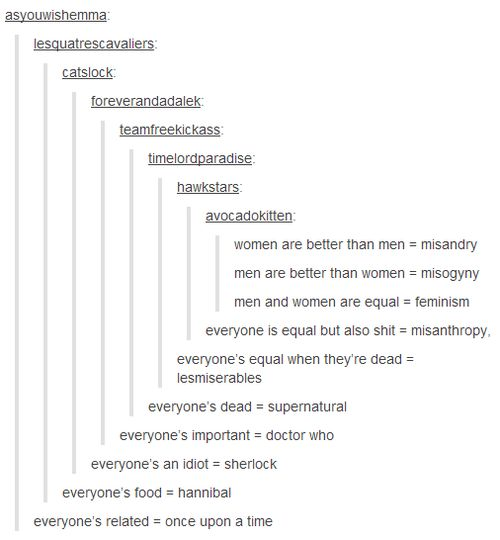 """Tumblr must be a hunting ground for Fangirls: """"Oh, look a hipster post! Let's ruin it."""""""