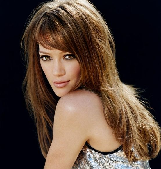Hillary Duff hairstyle like the cut and color, I know mines not this long but would like it to be some day