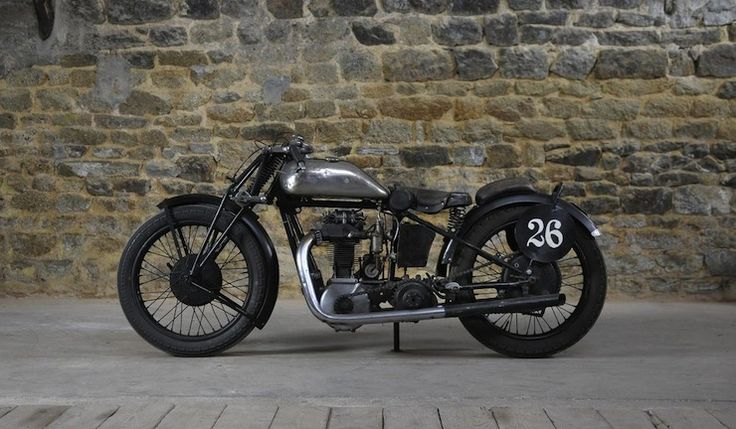 1930 Monet-Goyon 350cc Racing Motorcycle