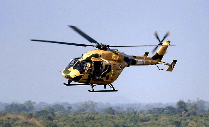 Indian Advanced Light Helicopter HAL Dhruv