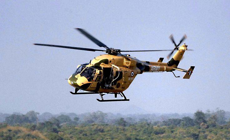 Indian Advanced Light Helicopter HAL Dhruv