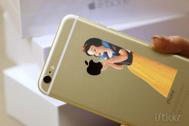 Snow White iPhone Decal Sticker #IphoneApp
