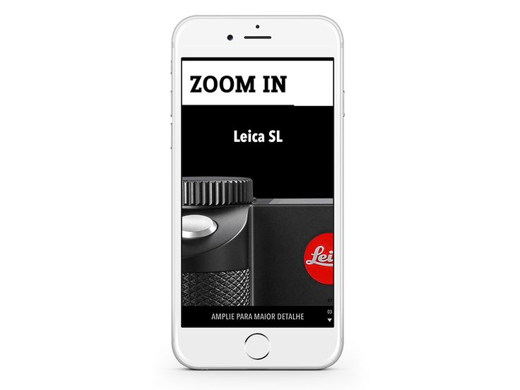 """ZOOM IN – Leica SL – """". The camera that sets the standards of speed, image quality and versatility"""" (Sample some spreads)."""