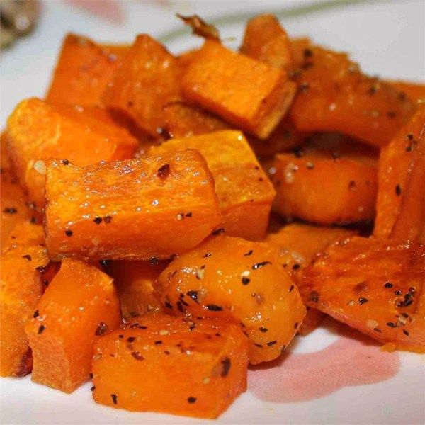 "Simple Roasted Butternut Squash | ""My husband sampled from the pan when the it emerged from the oven. No doubt we'll make roasted butternut squash again and again."""