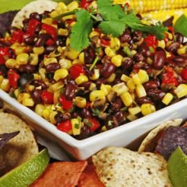 Corn and Black Bean Salad - Healthy Recipes: Easy Meals from Canned and Dry Foods - Shape Magazine