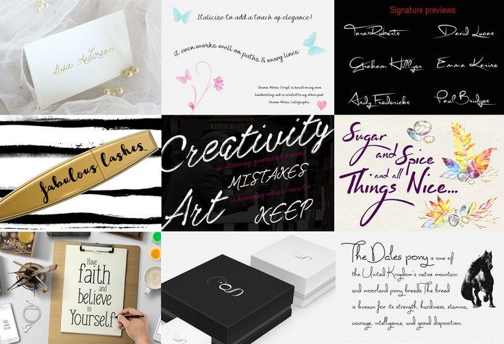 Funky Font Bundle + Extras (85% OFF) by Joanne Marie on Creative Market