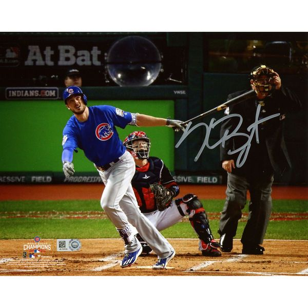 "Kris Bryant Chicago Cubs Fanatics Authentic 2016 MLB World Series Champions Autographed 8"" x 10"" World Series Photograph - $249.99"