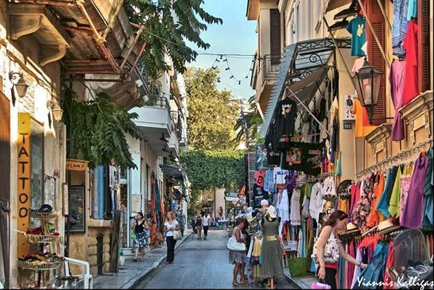 Plaka Greece   Travel Greece