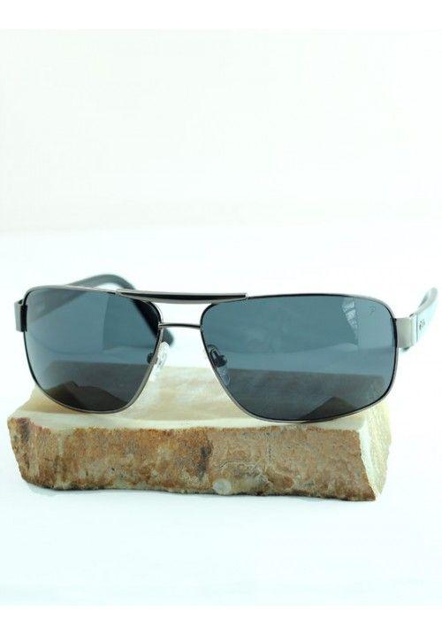 Ellesse Erkek Güneş Gözlüğü Beyaz Metal Çerçeveli Kalın Kemerli es086