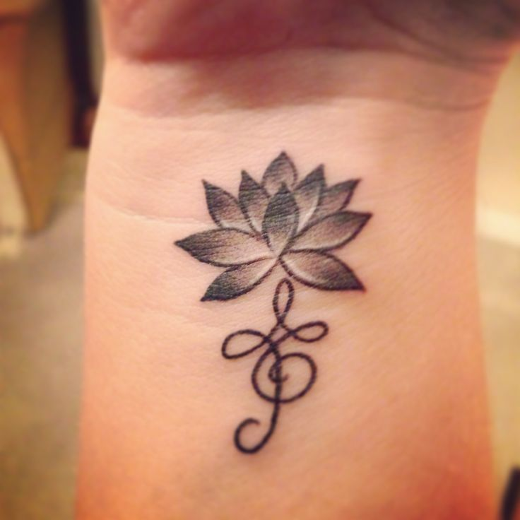 Lotus flower for strength and beauty Zibu symbol meaning embrace life. Marking my niece's Lily's 1st Birthday