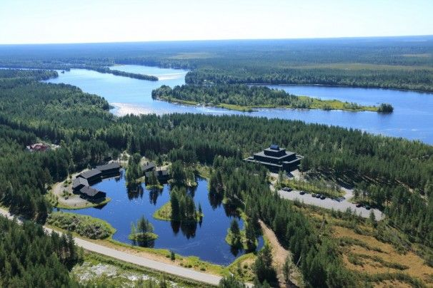 Das neue Arctic Hotel Kierikki in Yli-Ii nördlich von #Oulu #Finland - http://www.nordicmarketing.de/blog/2014/11/14/arctic-hotel-kierikki/