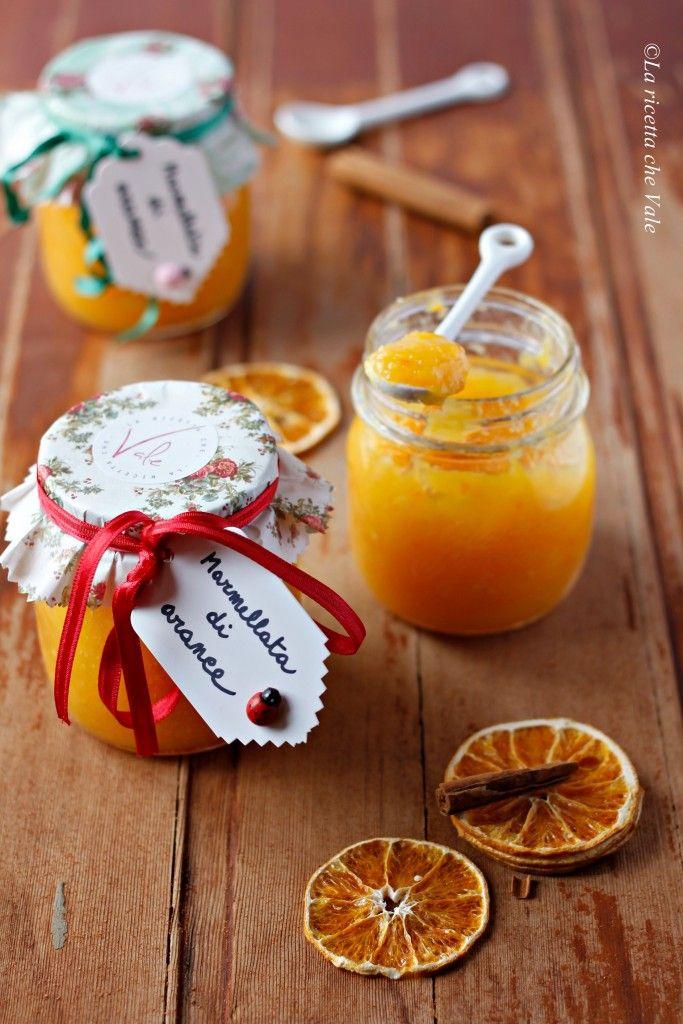 Marmellata di arance | La ricetta che Vale