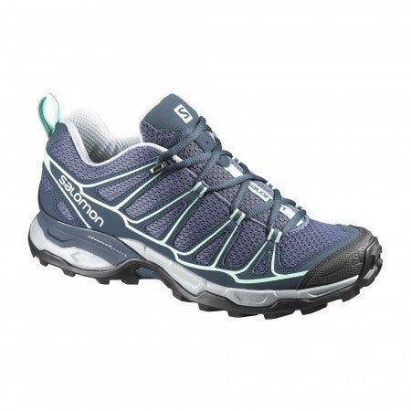 Women's hiking and daywalking shoe. A great value for hikers who like to move fast on technical terrain.