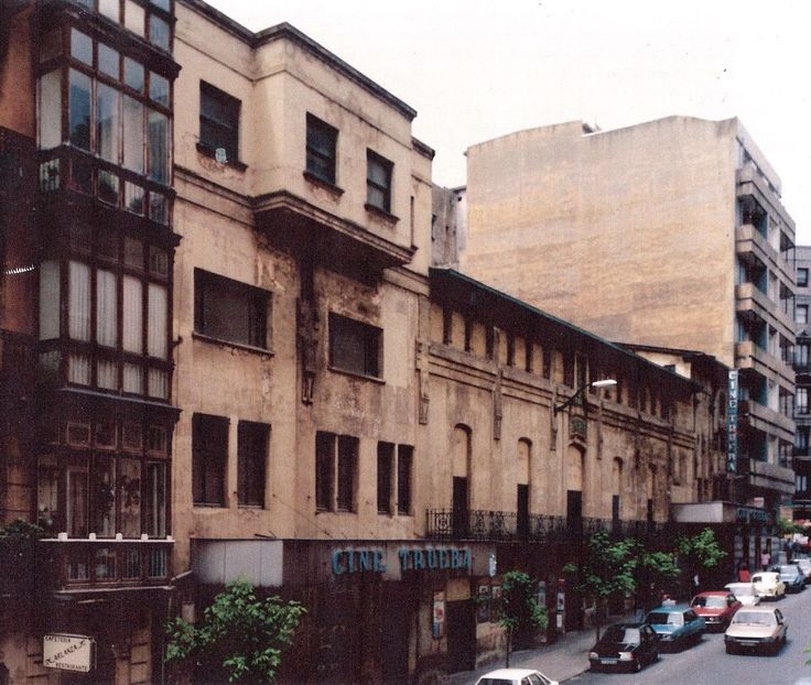 Bilbao, Trueba cinema, opening June, 5, 1913. Colón de Larreátegui street, Abando district.