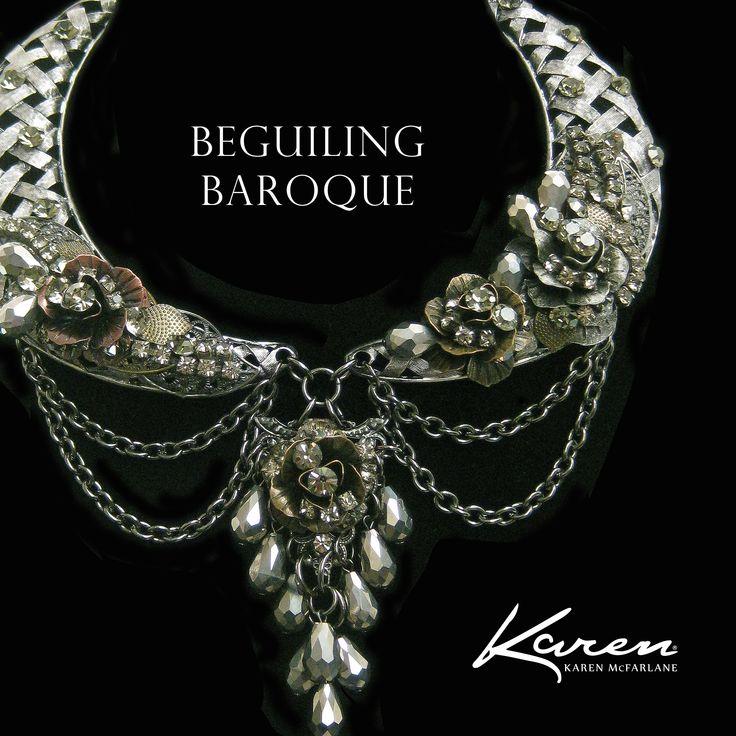 Beguiling Baroque Karen McFarlane Necklace #1117n karenmcfarlane.myshopify.com