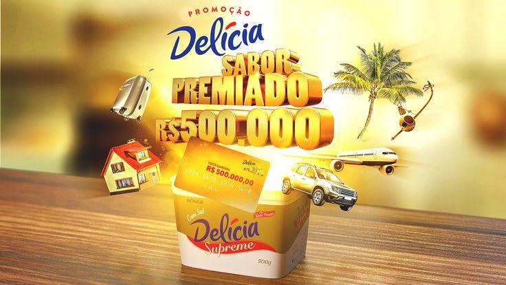 Delícia Premiada on Behance