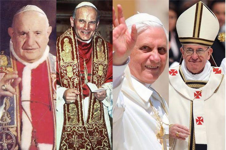 Quattro papi per il presente e il futuro della Chiesa - Aleteia