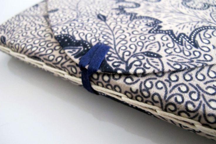 Block de notas con costura enlazada – El Taller de Sarah Olsen, apúntate online en The Hobby Maker