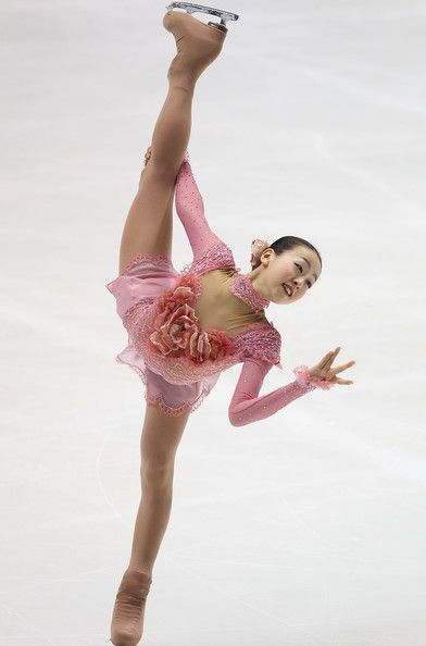 Mao Asada.I love watching ice skating.Please check out my website thanks. www.photopix.co.nz