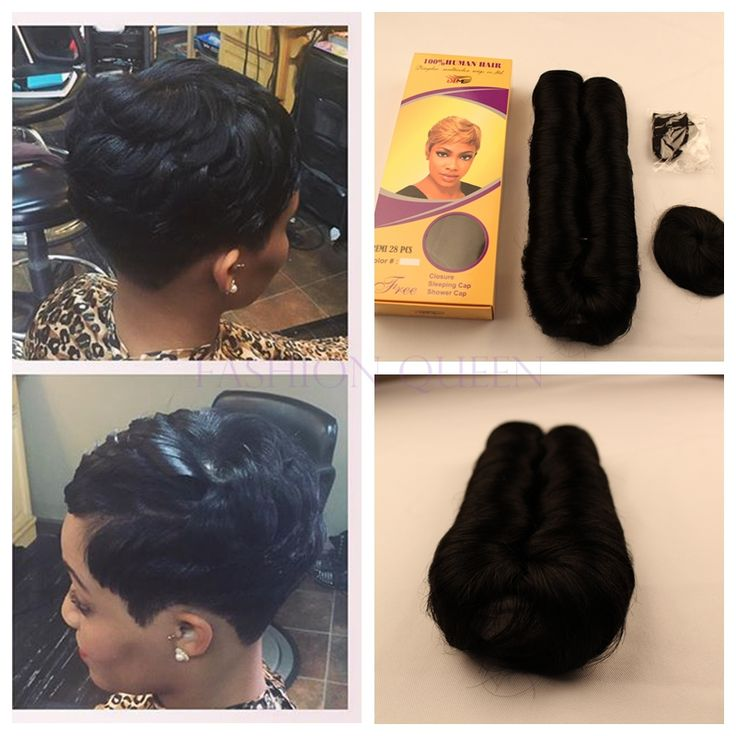 Weave Extensions On Short Hair 40