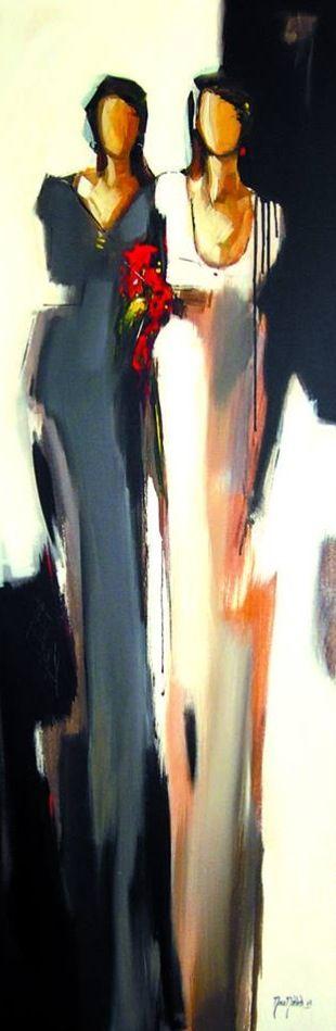mona nahleh 50x150cm 2004