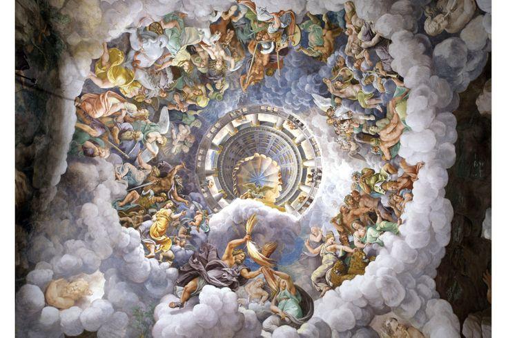 Palazzo Te - Giulio Romano, camera dei Giganti Foto di Nicola Romani
