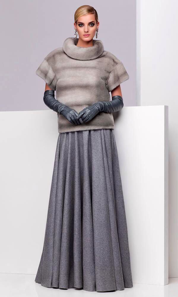 Sapphire Mink Fur Pullover