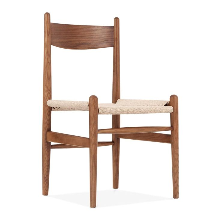 Hans Wegner Style CH36 Chair in Walnut | Restaurant Chairs | Cult UK