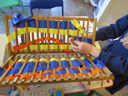 Wonderful Weaving by Teach Preschool