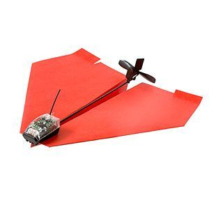 PowerUp® 3.0 Smartphone Controlled Paper Airplane   ThinkGeek