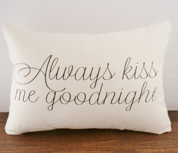 Goodnight Cushion Cover - Uncovet
