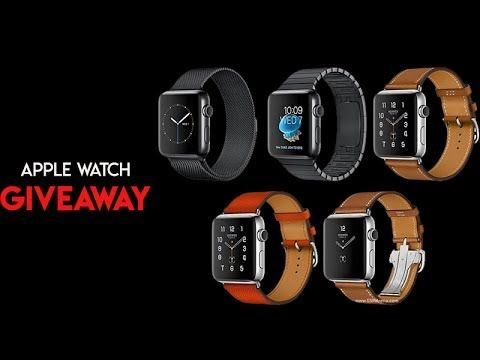 How To Get a Free Apple Watch Series 2 - Apple Watch Review & Unboxing - Apple Watch Giveaway 2017