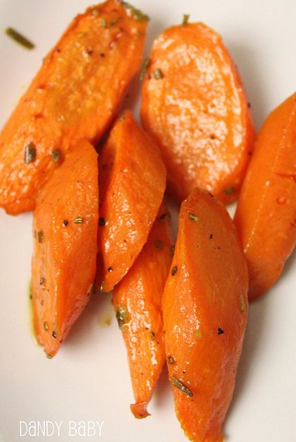 Apple Cider & Rosemary Roasted Carrots. Variation to try - substitute ...