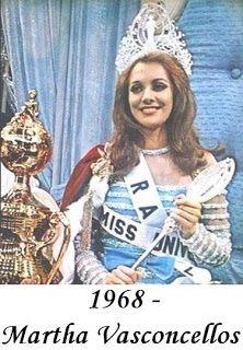 Miss Universo - Baiana  2ª coroada BRASILEIRA