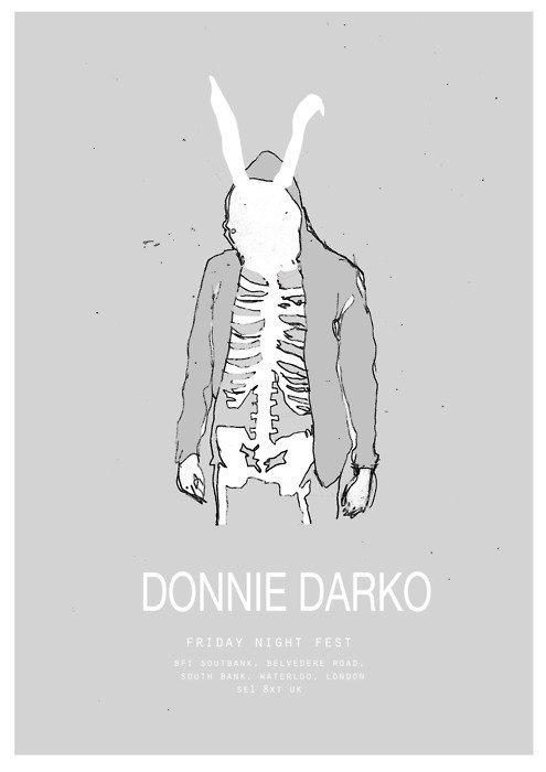 Donnie Darko, minimal movie poster
