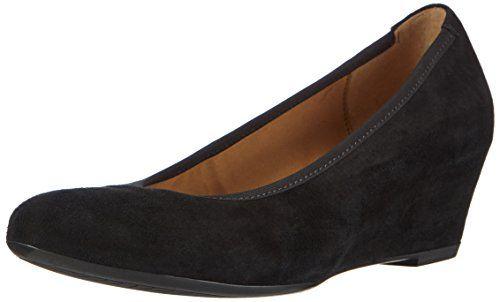 Gabor Shoes 35.360 Damen Pumps, Schwarz (schwarz 17), 42.5 EU - http://on-line-kaufen.de/gabor/42-5-eu-gabor-shoes-35-36-damen-geschlossen-pumps-2