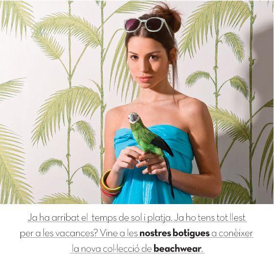 Ja ha arribat l'estiu i amb ell la nostra colecció de beachwear. www.lamallorquina.es