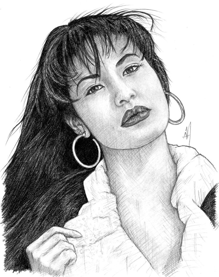 """""""Always believe that the impossible is always possible."""" - Selena Quintanilla Pérez (known professionally as Selena and the Queen of Tex-Mex); singer, songwriter, model, actress and fashion designer. • Graphite pencils on 8 1/4"""" x 11"""" sketch pad. ► Get my app for exclusive content! """"Aaron Manriquez Illustration"""" Now on Play Store • facebook.com/aaronm.illustration • instagram.com/aaronmanriquez.illustration • twitter.com/am_illustra ▲ Online shop at society6.com/aaronmanriquez"""