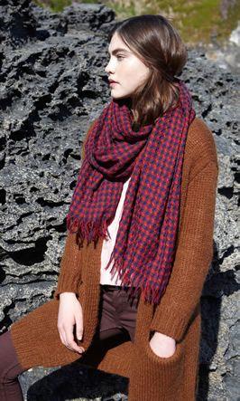 Brae scarf - Plümo Ltd