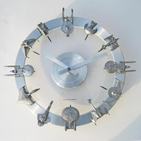 star trek timer | this amazing stark trek clock is the work of yougneek and each clock ...