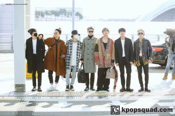 Segera Berangkat ke Amerika, Intip Tampannya Foto Preview Para Member BTS di Bandara!