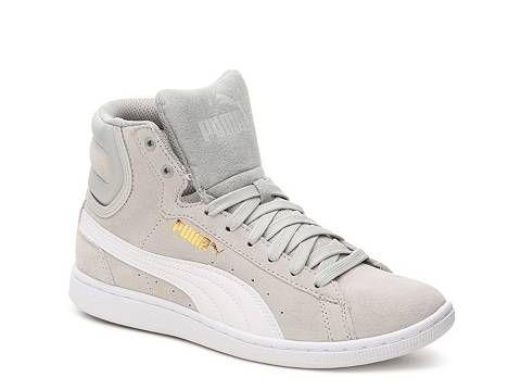 Puma Vikky High-Top Sneaker - Womens