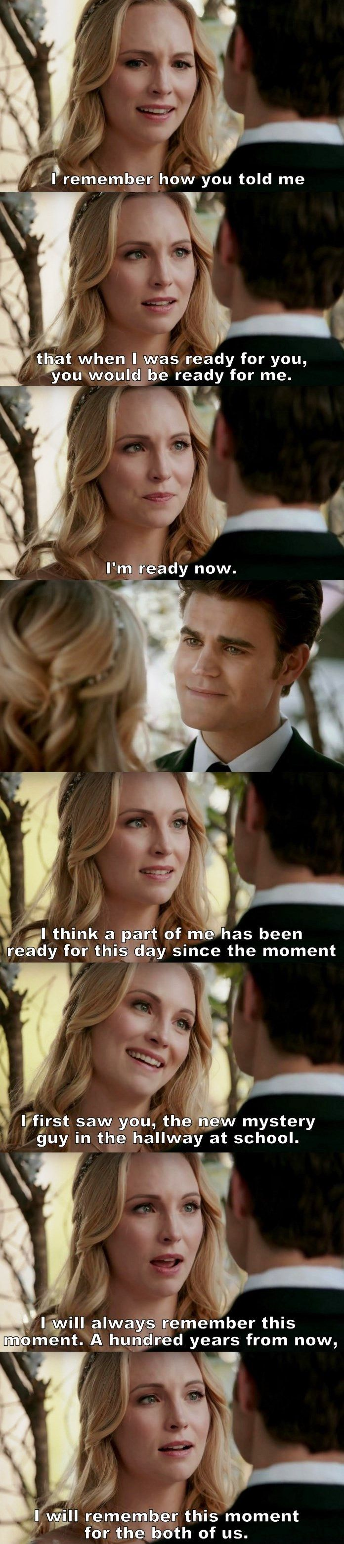 The Vampire Diaries TVD S08E15 - I'm a Stelena fan but Steroline has some cute moments too...