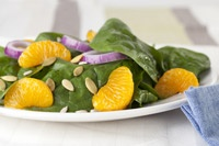spinach mandarin orange salad  prevention magazine