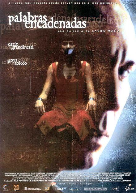 Palabras encadenadas (2003) España. Dir.: Laura Mañá. Thriller - DVD CINE 2374